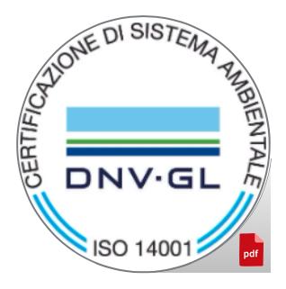 Certificazione di Sistema Gestione Ambiente ISO 14001